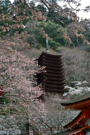 談山神社十三重の塔