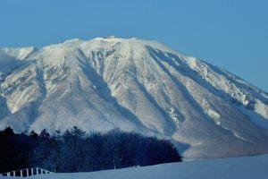 大寒の岩手山